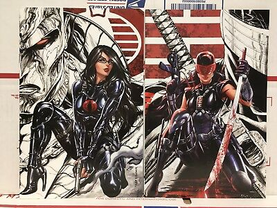 GI JOE #250 & Anniversary #1 - WonderCon 2018 Virgin Variant Set - KRS Kirkham