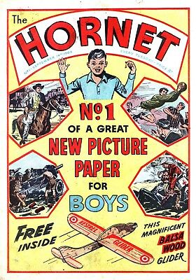 The Hornet Comic / 1963-1976 / Complete Dvd Rom Collection / All 648 Issues