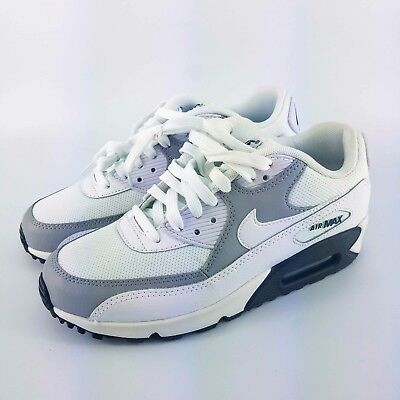 online store 25252 8e2d4 Nike Air Max 90 Running Shoes - White   Black   Grey - 325213-126