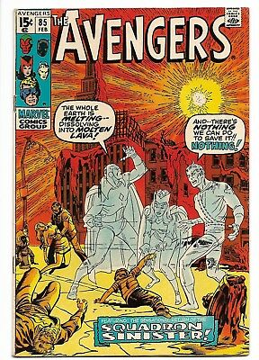 Avengers #85 Feb 1971 1st Appearance of the Squadron Supreme Secure Shipping