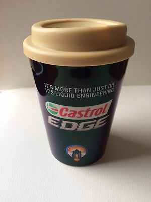 Castrol Oil Plastic Take Away Hot Drink Coffee Cool Mug  Cup