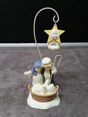 "Department 56 Snowbabies ""a Star Shone Down Where He Lay"" Figurine 2006"