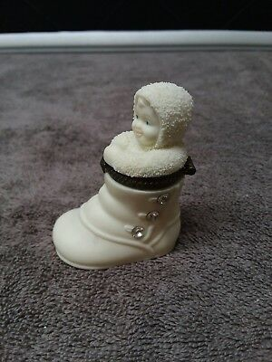 "Department 56 Snow Babies ""Take the First Step"" 1999"