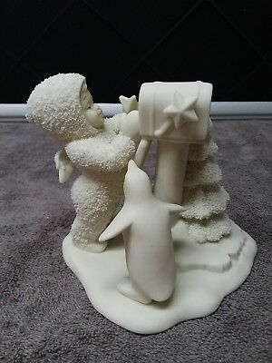 Dept 56 Snowbabies 'You didn't Forget Me' # 6821