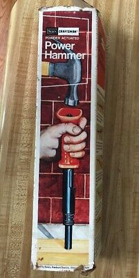 Vintage New Old Stock Craftsman Powder Actuated Power Hammer Model 1231.3817
