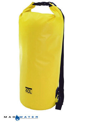 Mad Water™ 40L Waterproof Dry Bag Yellow M34005 Motorcycle Luggage Dry Tube