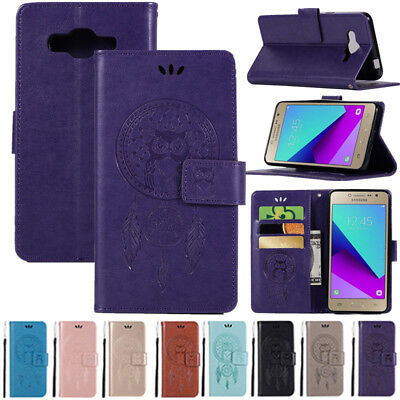 For Samsung Galaxy Grand Prime G530 Xcover 4 G390 PU Leather Stand Wallet Case