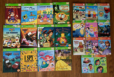 Huge Lot of 23 Leap Frog TAG & TAG Jr. Reader Books for Boys & Girls BOOKS ONLY