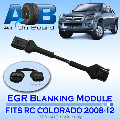 EGR 001 BLANKING MODULE FOR HOLDEN RC COLORADO 2008-2012 4JJ1 Engine