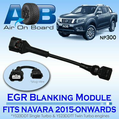 EGR 002 Blanking Module for NISSAN NAVARA NP300  vehicles with the YS23DDT  engi