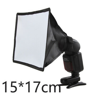 15*17 cm Portable Folding Flash Speedlite Softbox Diffuser for DSLR Camera L0B0