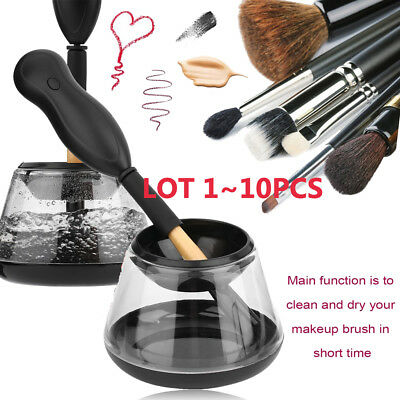 (1~20)Beauty- Makeup Brush Cleaner Professional Portable Electric Cleaner Set BE