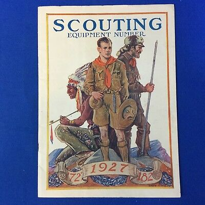 Boy Scout 1927 Scouting Equipment Number Magazine