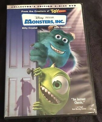 Monsters, Inc. (Two-Disc Collector's Edition) DVD, Billy Crystal, John Goodman