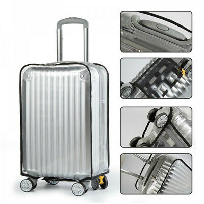 PVC Transparent Travel Luggage Protector Suitcase Cover 20'' 22'' 24'' 26'' 30''