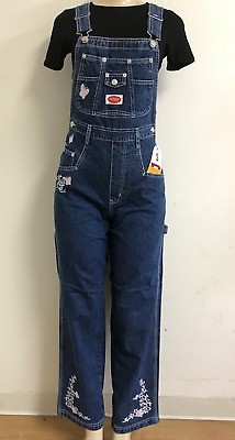 Sale!!!Overall Revolt Classic Bib Overall Jeans With Embroidery For Women Outfit