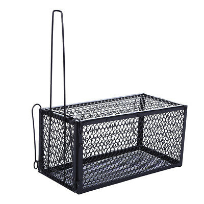 Home Rat Catcher Spring Cage Trap Humane Large Live Animal Rodent Indoor Outdoor