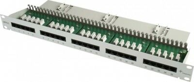 Telegärtner 19Z.Patch Panel 1HE MPPI25-H Cat3,gr J02023C0014