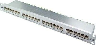 Metz Connect 24-Port Panel E-DAT C6 1HE Alu TN E-DAT C6 MP24