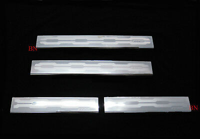 4 Door Stainless Scuff Plates Trim For Ford Ranger XLT T6 MK1 MK2 2012 - 2018 PX