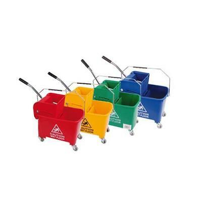 Robert Scott & Sons Microspeedy 20litre Bucket & Wringer System Yellow