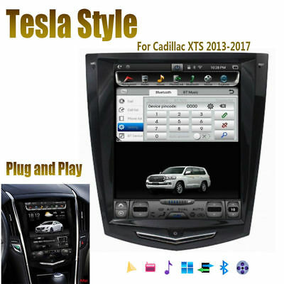 10.4'' Tesla Style Car GPS Navigation For Cadillac XTS Pro Livery FWD 2013-2018