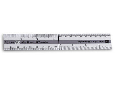 Pmc Shrinkage Ruler