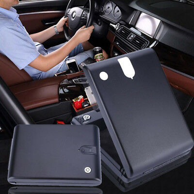 D901 Fingerprint Safe Box Portable Car Safe Box Handgun Valuables Fingerprint Lo