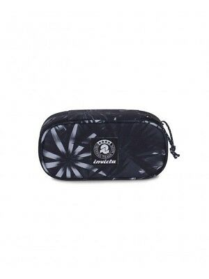 ASTUCCIO LIP XL pencil bag INVICTA fantasy NERO portapenne INTERNO ATTREZZATO