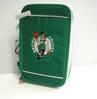 be3e798604 ASTUCCIO 3 zip NBA Panini CELTICS accessoriato 2018 triplo VERDE materiale  scuol