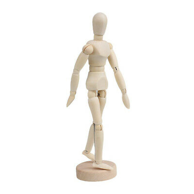 Wooden Manikin Jointed Doll Model Painting Artist Drawing Sketch Mannequin ACTPL