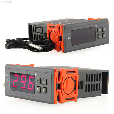 B370 Universal 220V Digital LCD Temp Temperature Controller Thermostat with Sens