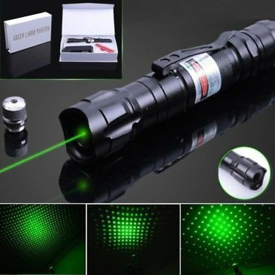 Military High Power 532nm Green Beam Laser Pointer 18650 Rechargeable Battery