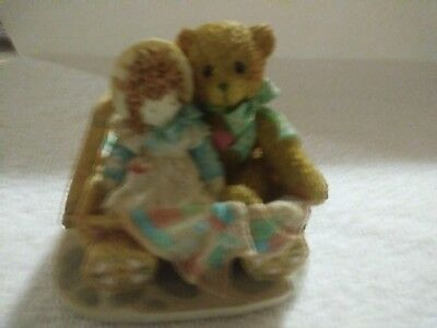 """Cherished Teddies Enesco Bears from the 90's """"MOLLY"""" 910759 (C6/487)"""