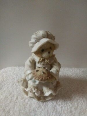"""Cherished Teddies Enesco Bears from the 90's PATIENCE"""" HAPPINESS IS HOMEMADE"""""""