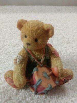 """Cherished Teddies Enesco Bears from the 90's """"RONNIE"""" 4E8/667"""