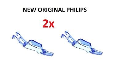 2x Blue Steam Control Trigger Molded Button For Philips PerfectCare Pure Iron