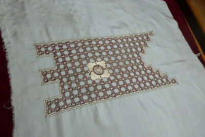 Example Peice Of Drawn Thread Work