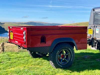 Landrover defender high capacity trailer
