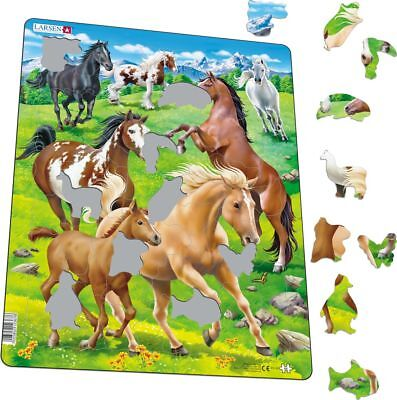 Jigsaw-Field Of Horses – 65 Piece Jigsaw Puzzle, Dementia Activity
