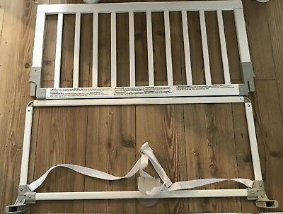 Baby Dan White Wooden Toddler Bed Guard