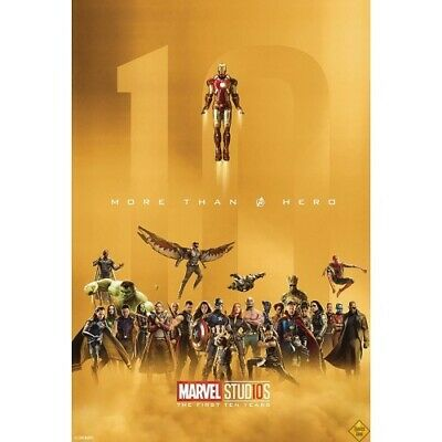 Marvel Studios First 10 Years Px Ed -  - 09/11/2018