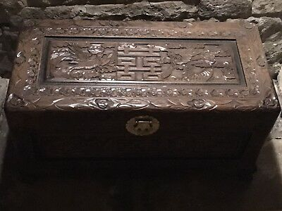Chinese Style Wooden Storage Chest