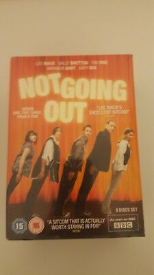 Not Going Out Complete Series 1 2 3 4 & 5 Dvd Box Set New Sealed Bbc Lee Mack