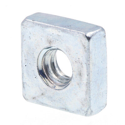Square Nuts, #6-32, Zinc Plated., 10 pack
