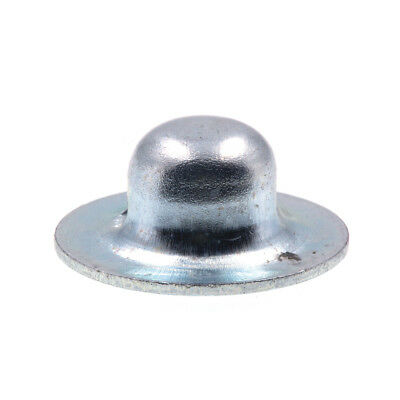 "Axle Hat Push Nuts, 3/16"", Zinc Plated., 100 pack"