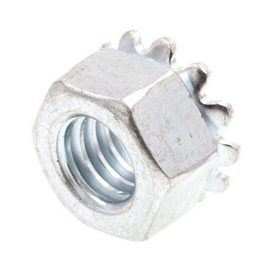 """K-Lock Nuts With External Tooth Washer, 5/16""""-18, Zinc Plated., 50 pack"""