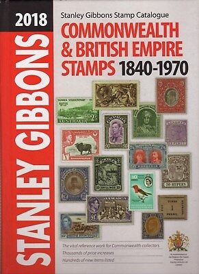 Stanley Gibbons 2018 Commonwealth & British Empire Stamps 1840-1970 Catalogue