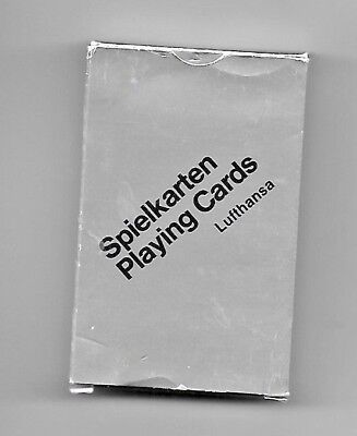 Lufthansa Airlines Spielkarten Playing Cards  ~ Made in West Germany