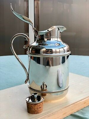 Silver Plated Thermal Jug